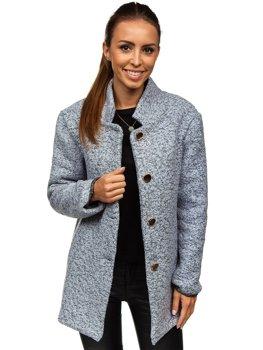 Bolf Damen Mantel Grau  6011-1