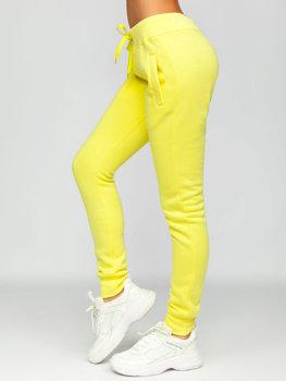 Bolf Damen Sporthose Gelb  CK-01