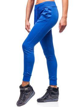 Bolf Damen Sporthose Mittelblau  WB11003