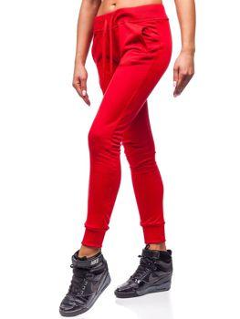 Bolf Damen Sporthose Rot  WB11003