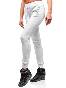 Bolf Damen Sporthose Weiß  77001