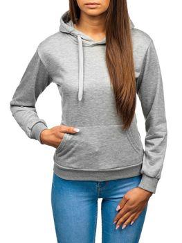 Bolf Damen Sweatshirt Grau  wb11001