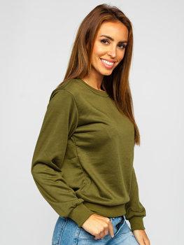 Bolf Damen Sweatshirt Khaki  WB11002