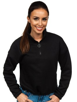 Bolf Damen Sweatshirt Schwarz  KSW2029
