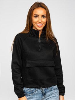 Bolf Damen Sweatshirt Schwarz  KSW2032