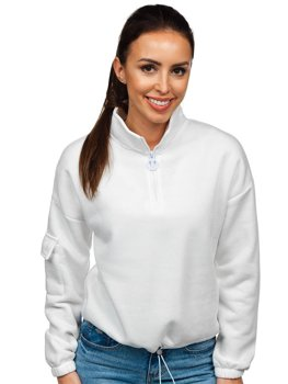 Bolf Damen Sweatshirt Weiß  KSW2029