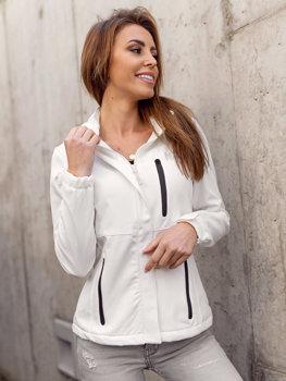 Bolf Damen Übergangsjacke Softshell Jacke Weiß  HH028