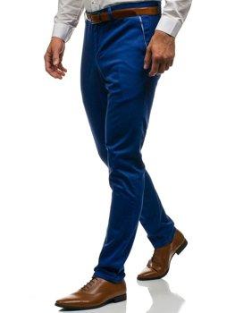 Bolf Herren Ausgehhose Blau  4326