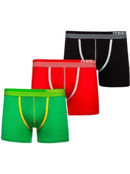 Bolf Herren Boxershorts Mehrfarbig-2  G513 3 PACK