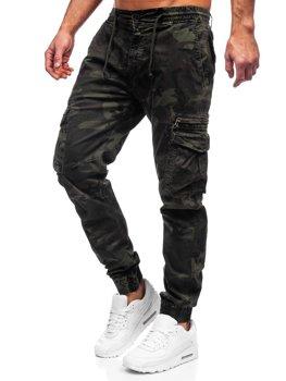 Bolf Herren Jogger Pants Cargohose Grün CT6026S0