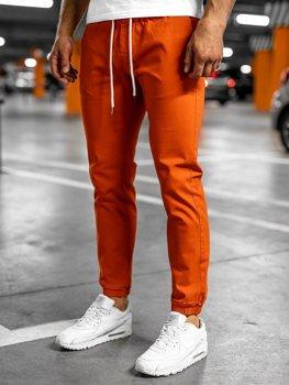 Bolf Herren Jogger Pants Orange  1145
