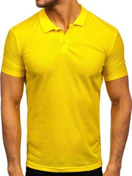 Bolf Herren Poloshirt Gelb  GD02