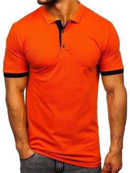 Bolf Herren Poloshirt Orange  171222-1