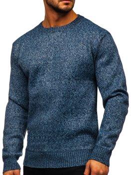 Bolf Herren Pullover Blau  7M117