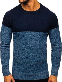 Bolf Herren Pullover Blau  H1809
