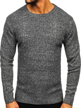 Bolf Herren Pullover Grau H1937