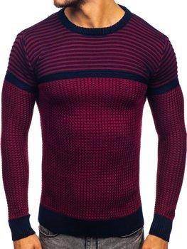Bolf Herren Pullover Rot  1013