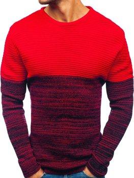 Bolf Herren Pullover Rot  164