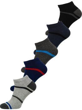 Bolf Herren Socken Mehrfarbig  X10082-5P 5 PACK