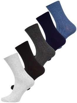 Bolf Herren Socken Mehrfarbig  X10158-5P 5 PACK