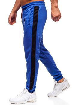Bolf Herren Sporthose Blau-Schwarz JZ11005