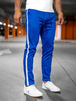 Bolf Herren Textilhose Jogger Pants Blau  0013