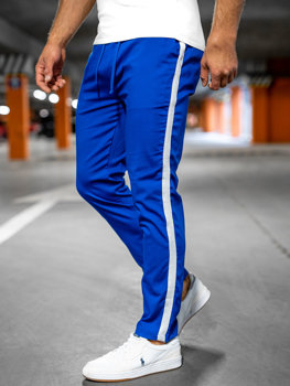 Bolf Herren Textilhose Jogger Pants Kobaltblau  0013