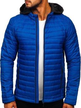 Bolf Herren Übergangsjacke Sport Jacke Blau  AB031