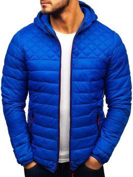 Bolf Herren Übergangsjacke Sport Jacke Blau  LY1010