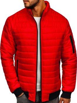 Bolf Herren Übergangsjacke Sport Jacke Rot  MY22