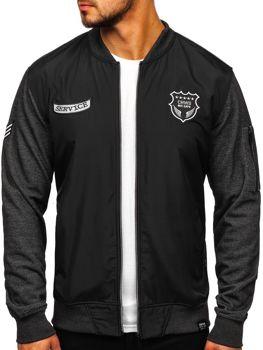 Bolf Jungs Sweatshirt mit Motiv Schwarz  3803