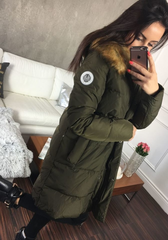 Bolf Damen Winterjacke Khaki  8063