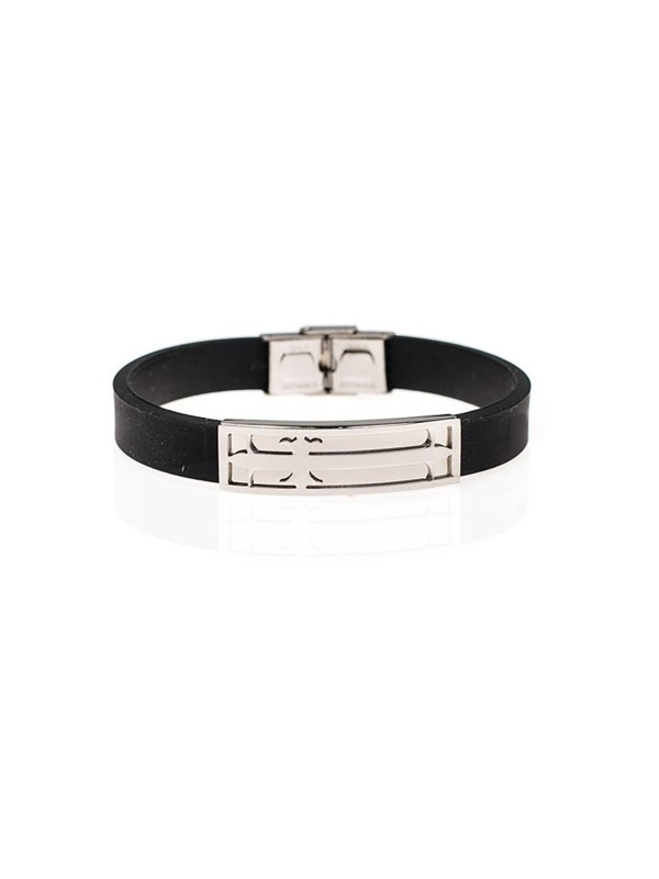 Bolf Herren Armband Schwarz B057