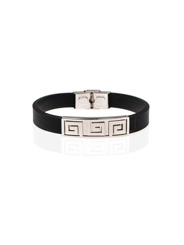Bolf Herren Armband Schwarz B063