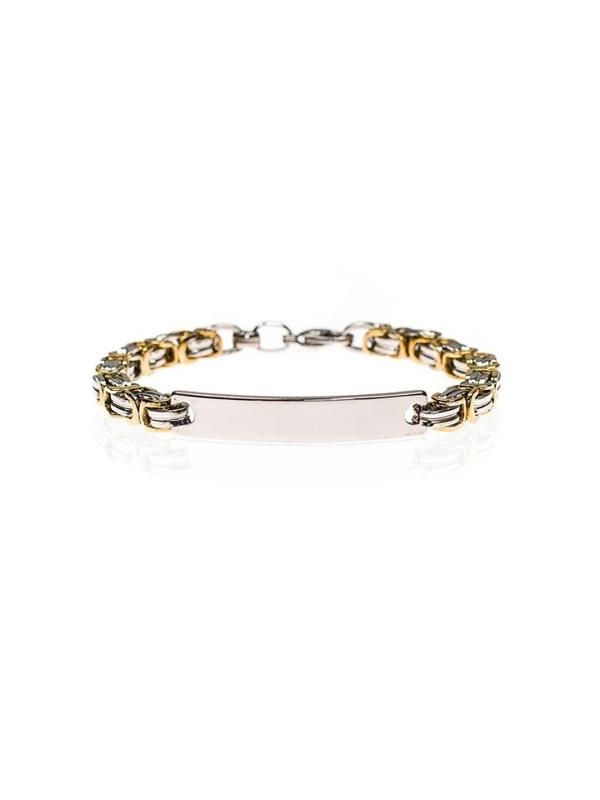Bolf Herren Armband Silber B084