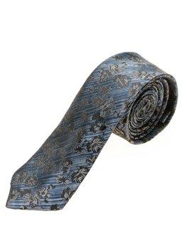 Bolf Herren Krawatte Elegant Blau  K108