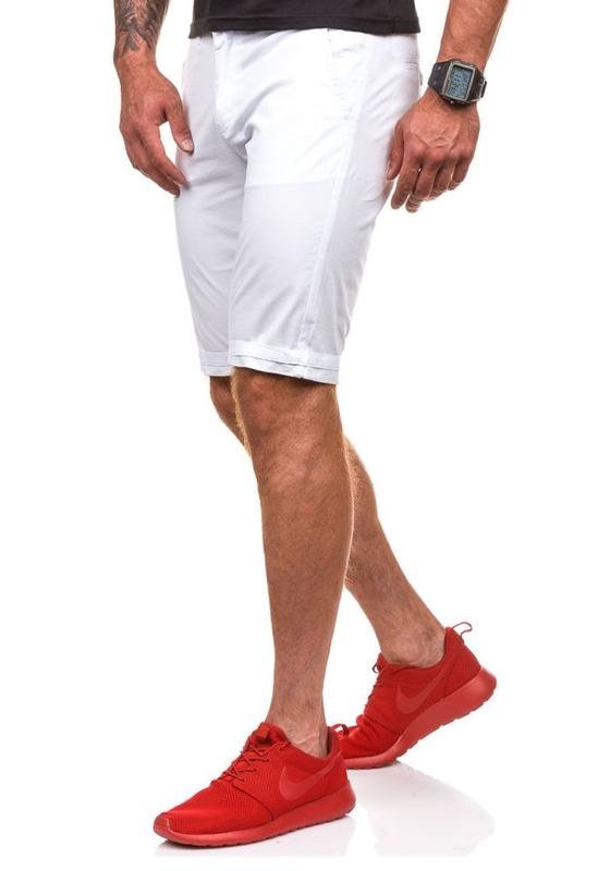 Bolf Herren Shorts Weiß 3508