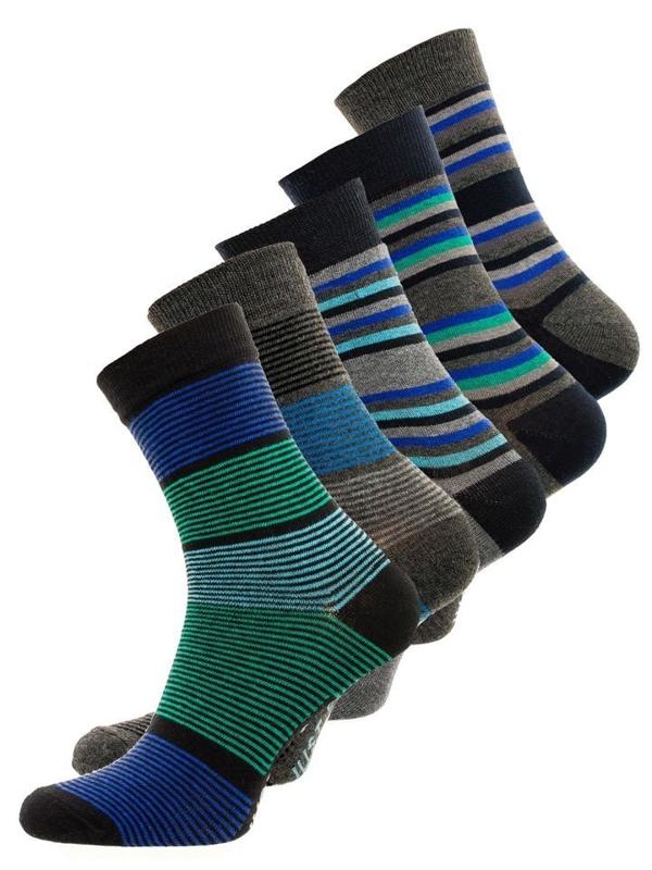 Bolf Herren Socken Mehrfarbig  X10026-5P 5 PACK