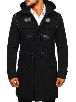 Bolf Herren Winterjacke Long Jacke Schwarz  88870