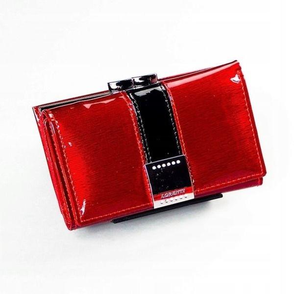 Damen Ledergeldbörse Rot 1216