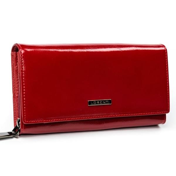 Damen Ledergeldbörse Rot 2903