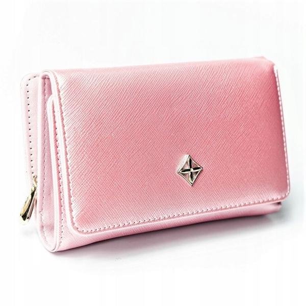Damen Ökoledergeldbörse Rosa 2310