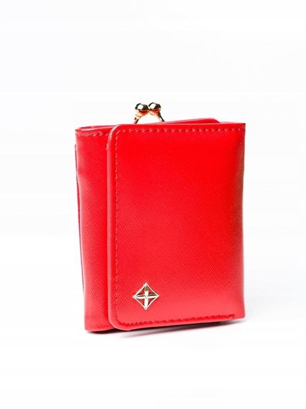 Damen Ökoledergeldbörse Rot 3003