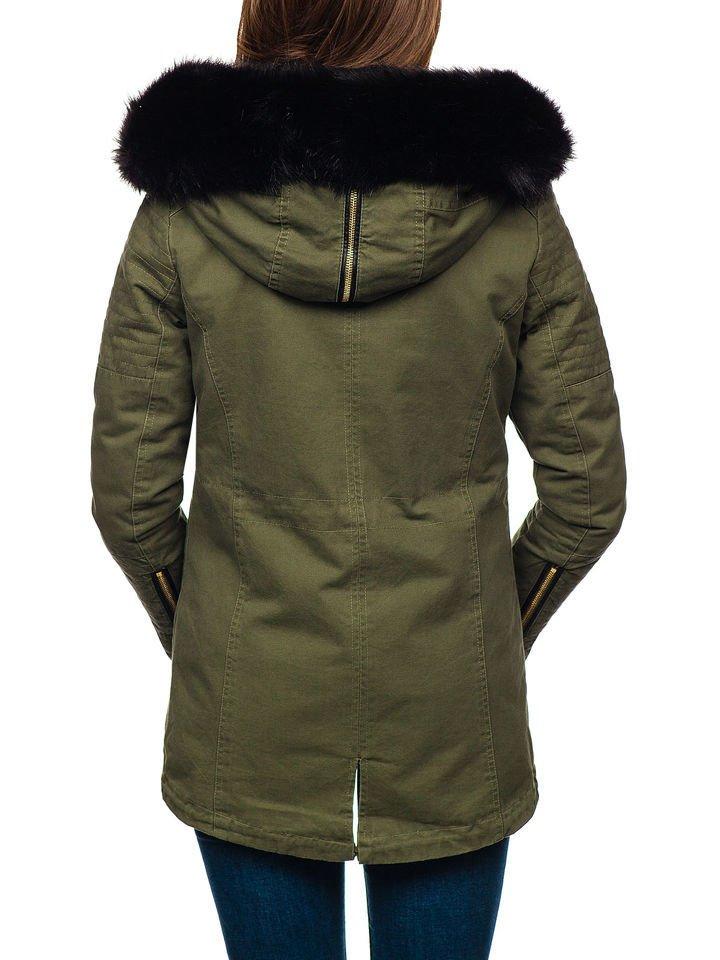 Bolf Damen Winterjacke Grün M16