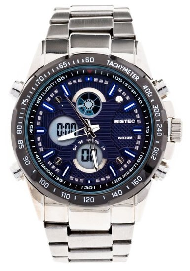 Bolf Armbanduhr Dunkelblau-Schwarz 210