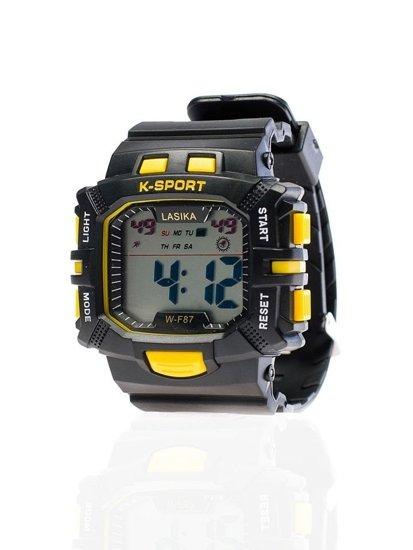 Bolf Armbanduhr Schwarz-Gelb WF87