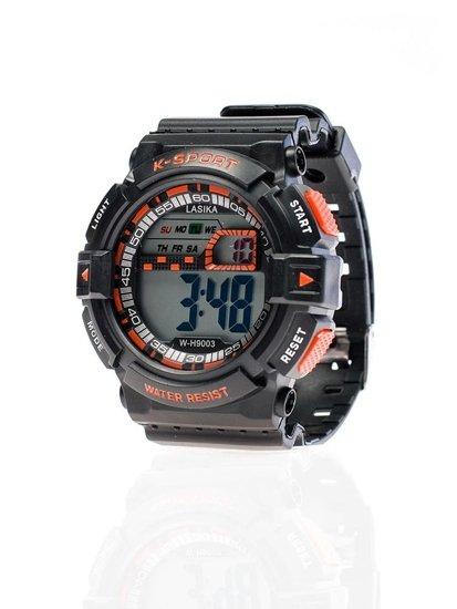 Bolf Armbanduhr Schwarz-Orange 9003