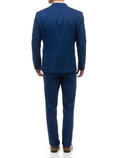 Bolf Herren Anzug Blau  1000