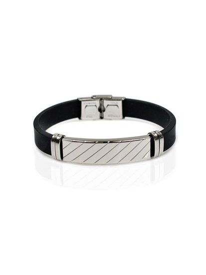 Bolf Herren Armband Schwarz B043