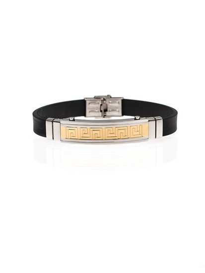 Bolf Herren Armband Schwarz B070